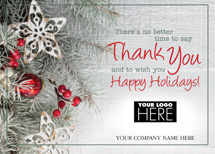 Country Charm Holiday Logo Cards